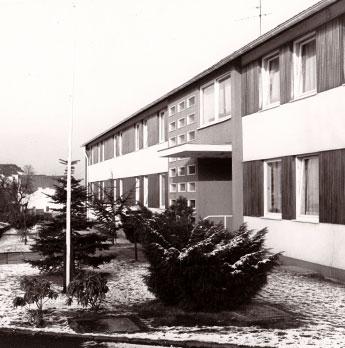 Eingang Altenheim Heinz-Frings-Haus