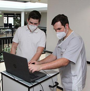 Pflegedokumentation am Computer