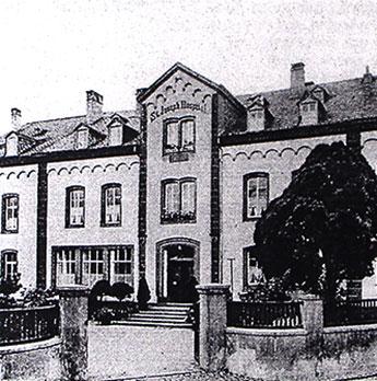 St. Joseph Hospital in Schweich um 1869