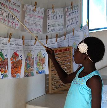 Schule in Kangandala - Angola