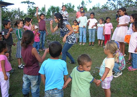 Kinderbetreuung in Honduras