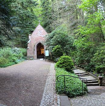 Kapelle am Heilbrunnen im Meulenwald